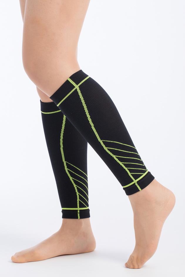 genett 3D運動壓縮小腿套(寶藍色) 1