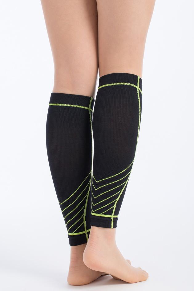 genett 3D運動壓縮小腿套(寶藍色) 3